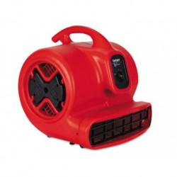Sanitaire Commercial Three-Speed Air Mover  20 lbs Red and Black