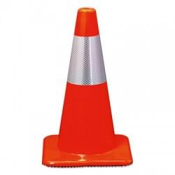3M Reflective Safety Cone 11 1/2 x 11 1/2 x 18 Orange