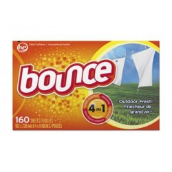 Bounce Fabric Softener Sheets 160 Sheets per Box