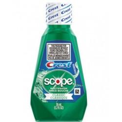 Crest Crest + Scope Rinse Classic Mint 36 mL Bottle