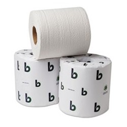 BOARDWALK- Green Bathroom Tissue 2-Ply500 Sheets per Roll White