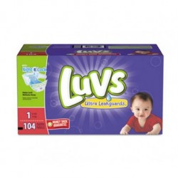 Luvs Diapers with Leakguard Size  1: 8 to 14 lbs