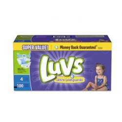 Luvs Diapers with Leakguard Size 4: 22 to 37 lbs