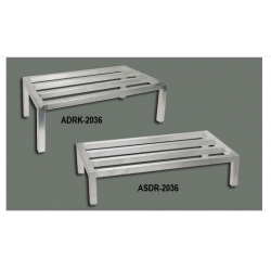 Dunnage Racks 20 x 36 x 8 Hold up to 1800 Lbs SILVER