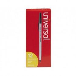 Universal Economy Ballpoint Stick Oil-Based Pen Black Ink Medium