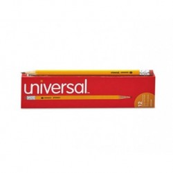 Universal Woodcase Pencil HB 2 Yellow Barrel