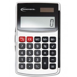 Innovera Handheld Calculator 8-Digit LCD