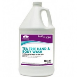 Theochem Laboratories Tea Tree Hand & Body Wash Aloe 1 gal Bottle