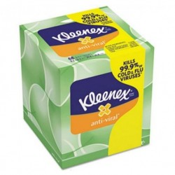 Kleenex Anti-Viral Facial Tissue 3-ply