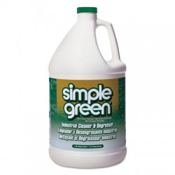 Simple Green Industrial Cleaner & Degreaser Concentrated 1 gal Bottle