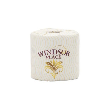 ATLAS PAPER MILLS- Windsor Place Premium Bathroom Tissue 2-Ply 3 1/2 x 4 1/2 500 per Roll White
