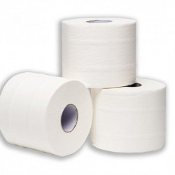 ATLAS PAPER MILLS- Stella Premium Toilet Tissue 2-ply 4x4 Individually Wrapped 450 per Roll White