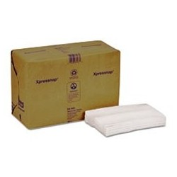 Xpressnap Interfold Dispenser Napkins 1-Ply Bag-PackWhite