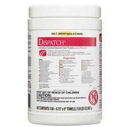 Dispatch Cleaner Disinfectant Towels