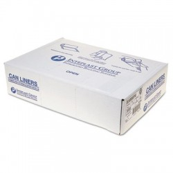 Inteplast Group Low-Density Can Liner 38 x 58 60-gal 1.15 Mil Clear