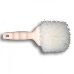 Utility Brush Nylon Fill 9 Long Tan Handle