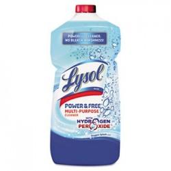 LYSOL Brand Power & Free Multi-Purpose Cleaner Pour Bottle Oxygen Splash 28oz Bottle