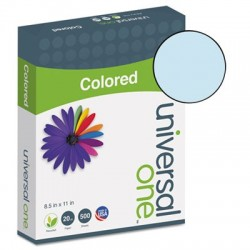 Universal Colored Paper 20lb 8-1/2 x 11 Blue