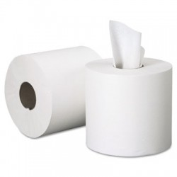 GEN Center-Pull Roll Towels 2-Ply White