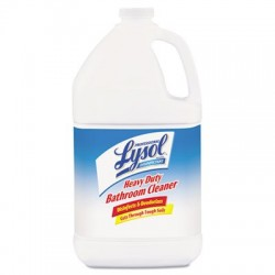 Professional LYSOL Brand Disinfectant Heavy-Duty Bathroom Cleaner Concentrate 1 gal Bottles