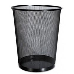 Universal Mesh Wastebasket 18qt Black