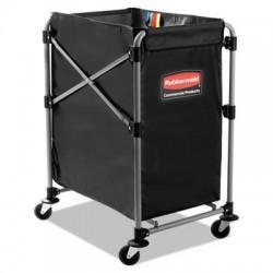 Rubbermaid Commercial Collapsible X-Cart Steel Four Bushel Cart 20 1/3w x 24 1/10d