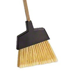 Angle Brooms Large Handle: 48x1 1/8 (WOOD) Fiber: Nylon