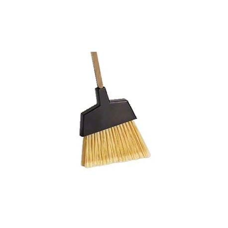 Angle Brooms Large Handle: 48x1 1/8 (WOOD) Fiber: Nylon