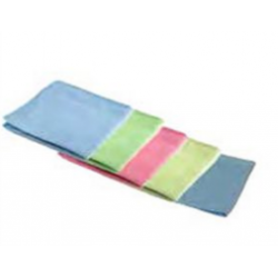 Microfiber Wipers Cleaning Towels Blue 16 x 16