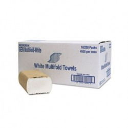 General Supply Multifold Towel 1-Ply White