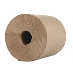 Morcon Paper Hardwound Roll Towels Kraft 1-Ply 600 ft 7.8 Dia