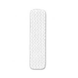 Rubbermaid Commercial Dry Room Pad Microfiber 18 Long White