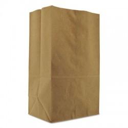 General 1 8  BBL Paper Grocery Bag 57 lb Kraft Standard 10.125 x6.75 x14.375