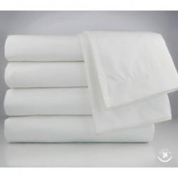 OXFORD REGALE 27x5014.00 LB BATH TOWEL DOBBY BORDER WHITE