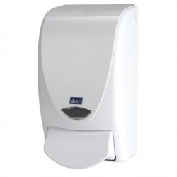 Dispenser Restyle 1-Liter Curve WHITE (for both Soap & Sanitizer)