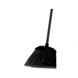 Rubbermaid Commercial Lobby Pro Broom Poly Bristles 35 Metal Handle Black