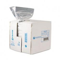 Inteplast Group Get Reddi Food & Poly Bag 8 x 4 x 18 8-Quart 0.68 Mil Clear