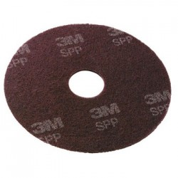 SURFACE PREP PADS. 13-INCH BROWN