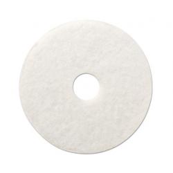 Standard Polishing Floor Pads 12 Diameter White
