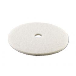 Standard Polishing Floor Pads 24 Diameter White
