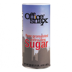 Reclosable Canister of Sugar 20oz