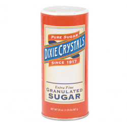 Granulated Sugar 20 oz Canister