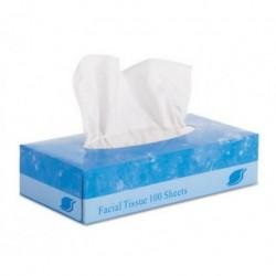 GEN Facial Tissue Flat Box 2-Ply 8 x 8.3