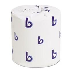 BOARDWALK- Bathroom Tissue 2-Ply 4 x 3 Sheet 500 per Sheets Roll White