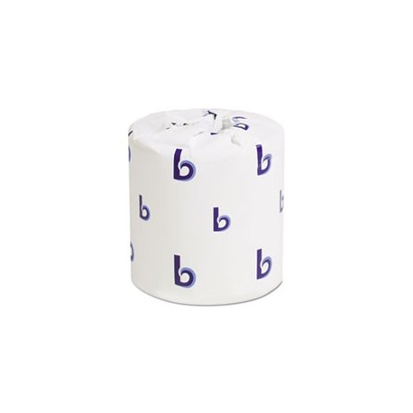 BOARDWALK- Bathroom Tissue 2-Ply 4 x 3 Sheet 500 per Sheets Roll White