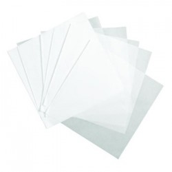 DELI WRAP DRY WAXED PAPER FLAT SHEETS 18 X 18 WHITE