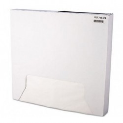 Grease-Resistant Paper Wrap Liner 15 x 16 White 1000 per Box