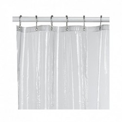 Shower Curtain Liners Registry 6-Gauge 6 x 6 White