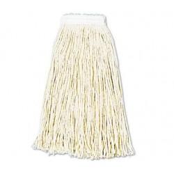 Premium Cut-End Wet Mop Heads Cotton 16oz White