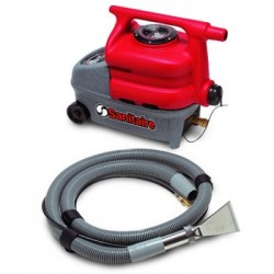 SANITAIRE SPOT CLEANER 1.5 GALLON CAPACITY 8 FT CORD RED/GR